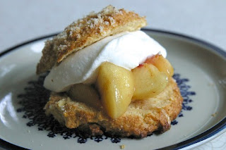 Peaches And Cream Shortcakes