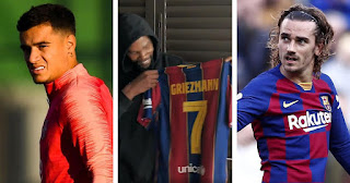 Griezmann appreciate his Barcelona teammate Coutinho after taking his shirt number