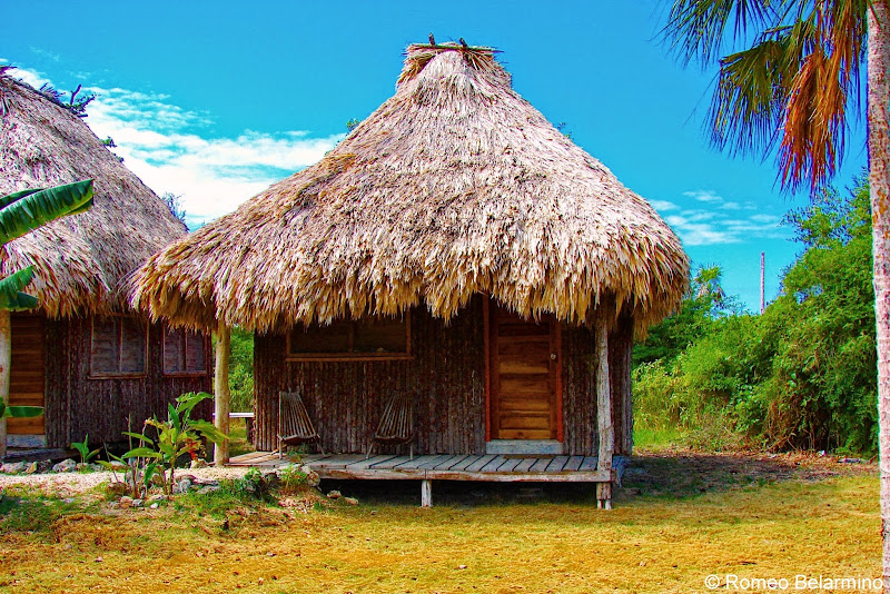 Cerros Beach Resort Thatched-Roof Cabana Belize
