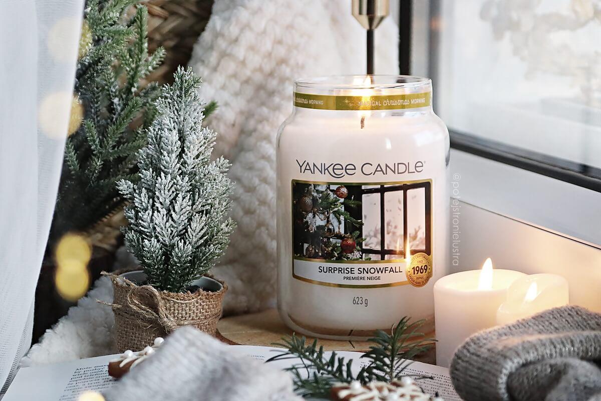 yankee candle surprice snowfall święta 2020