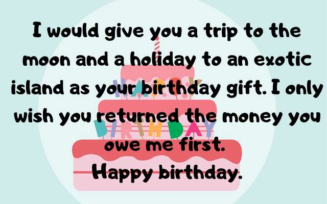 insulting birthday images for best friend in english