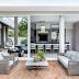 Área de lazer/externa com decor contemporâneo e sofisticado + sofá redondo!