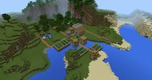 3 Köylü Minecraft PE Seedi 29300