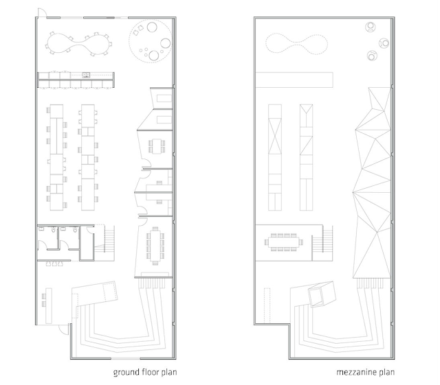 02. Kantor Hibrid, Los Angeles, CA, Amerika Serikat oleh Edward Ogosta Architecture