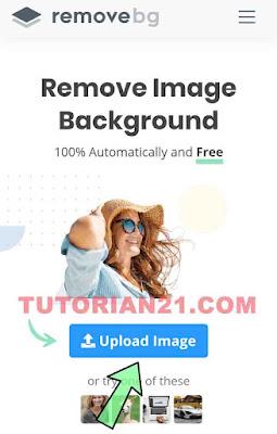 Cara menghilangkan dan menghapus background foto online