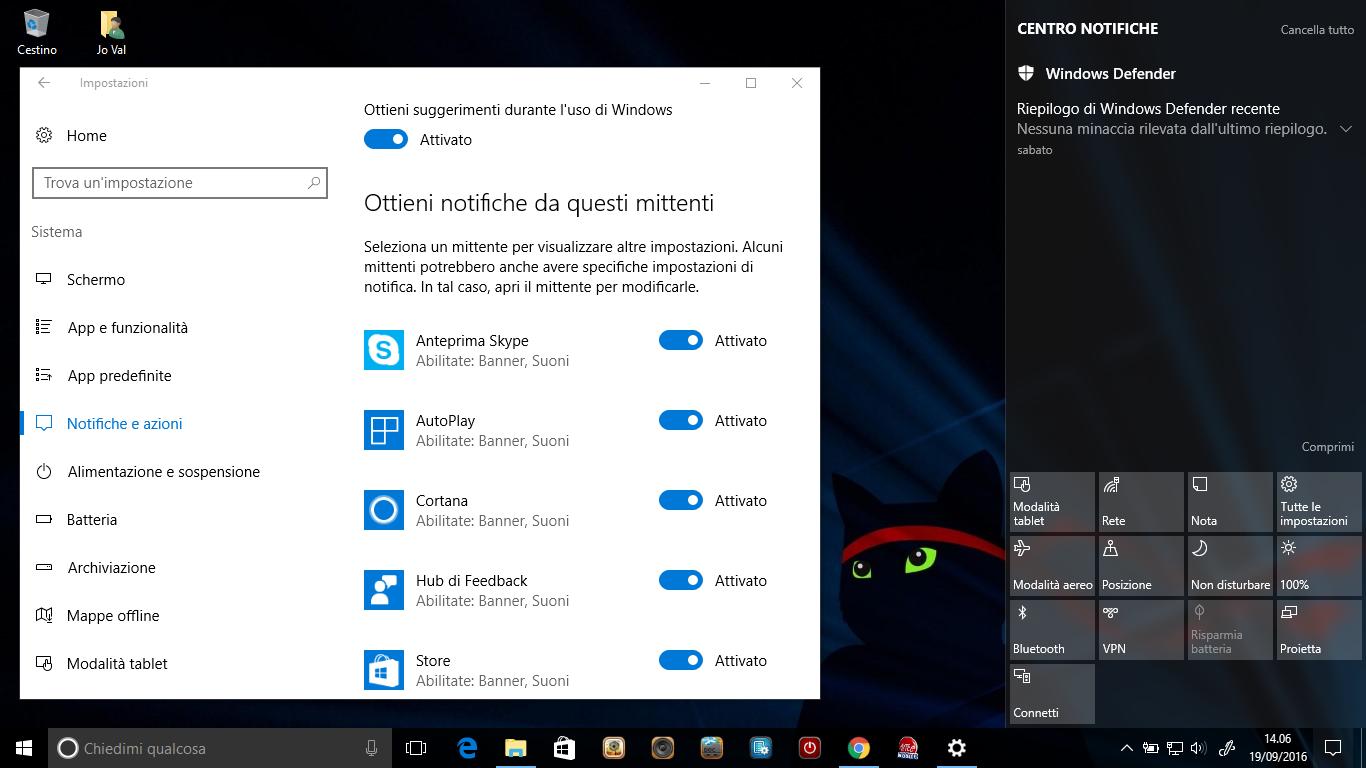 Come stabilire le priorità delle notifiche nel Centro operativo di Windows 10 HTNovo