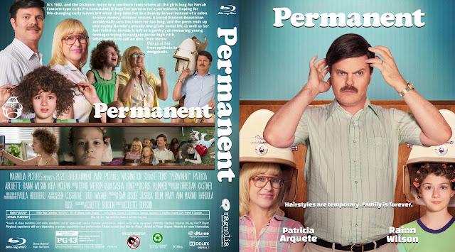 Permanent Bluray Cover