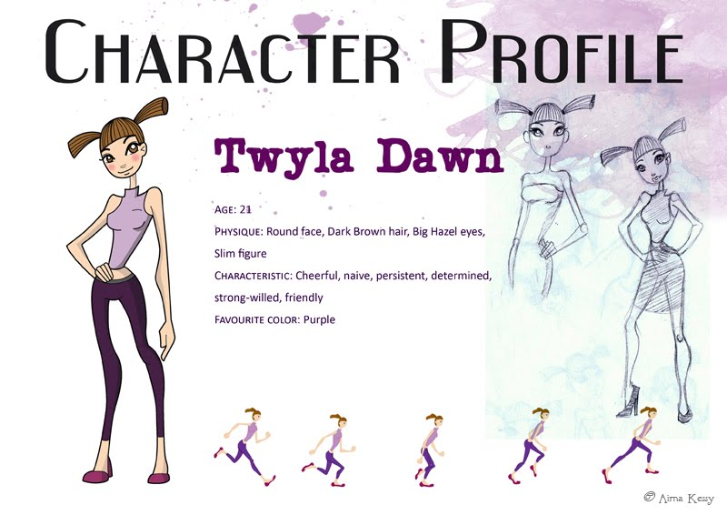The Write Way  Character Profile