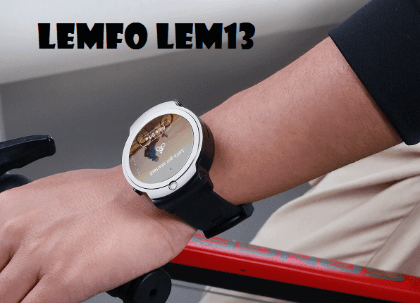 Lemfo LEM13 New 4G SmartWatch With 360° Rotating 2020