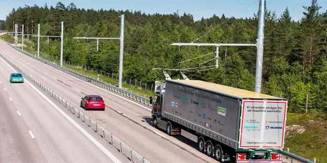 Swedia Bangun Jalan Juga Bisa Isi Daya Listrik
