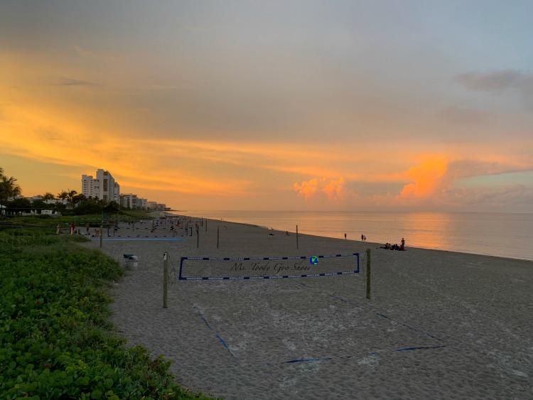 Deerfield Beach at sunset - June 2019 Photo Diary | Ms. Toody Goo Shoes