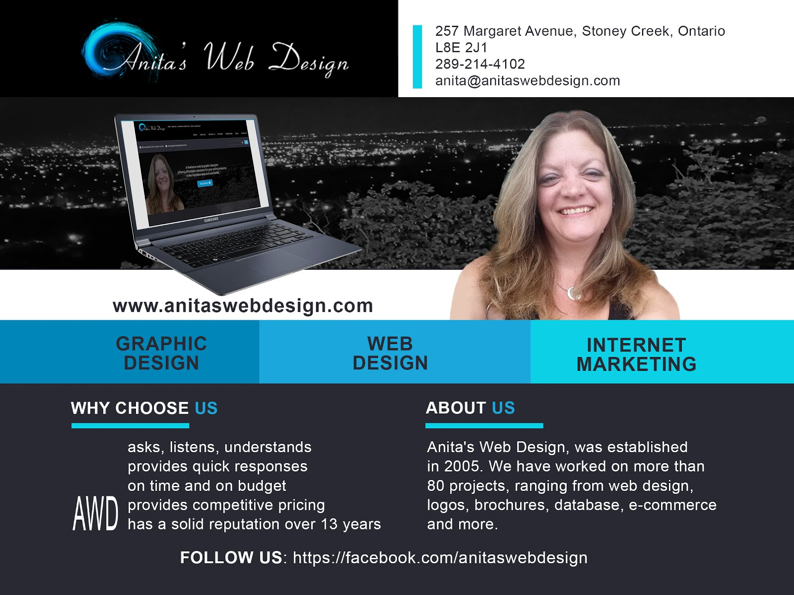 New Sponsor: Anita's Web Design