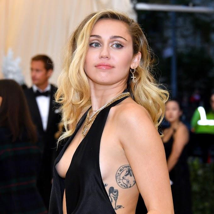 Miley Cyrus was Braless At CVS - Miley Cyrus hot Pic