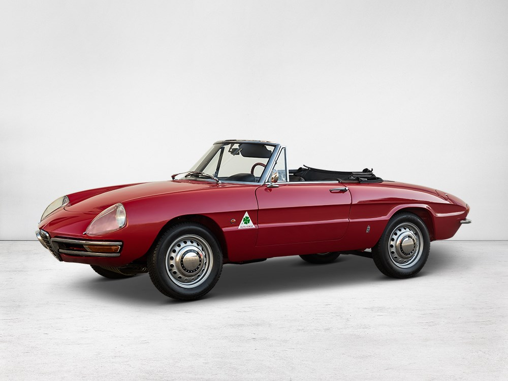 1966 alfa romeo 1600 spider duetto for sale at auctionata. Black Bedroom Furniture Sets. Home Design Ideas