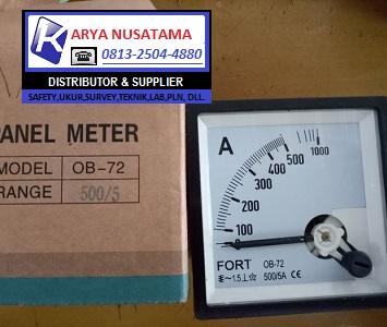 Jual Panel meter ampere Fort Range 500/5 di Padang