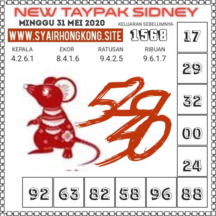 Prediksi Syair Sydney 31 Mei 2020