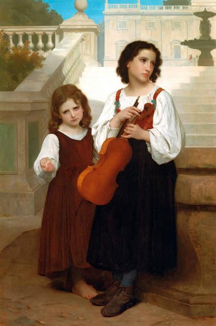 Адольф Вильям Бугро - В дали от дома (1867)