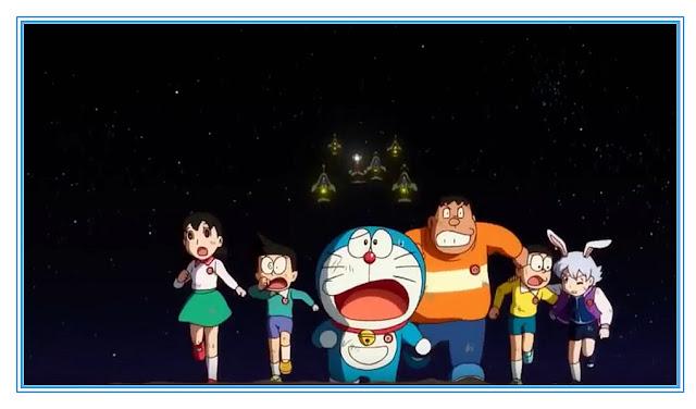 Sinopsis Film Doraemon: Nobita's Chronicle of the Moon Exploration (2019)