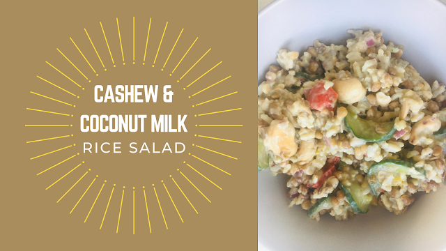 Cashew & Coconut Milk Rice Salad Recipe