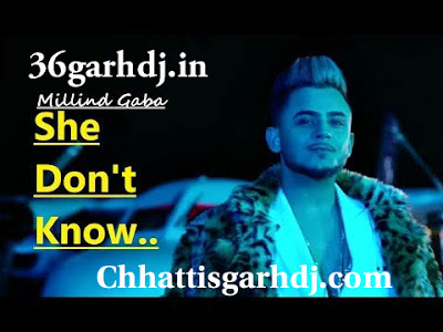 She Dont Know dj Amit Kaushik ft - Millind Gaba