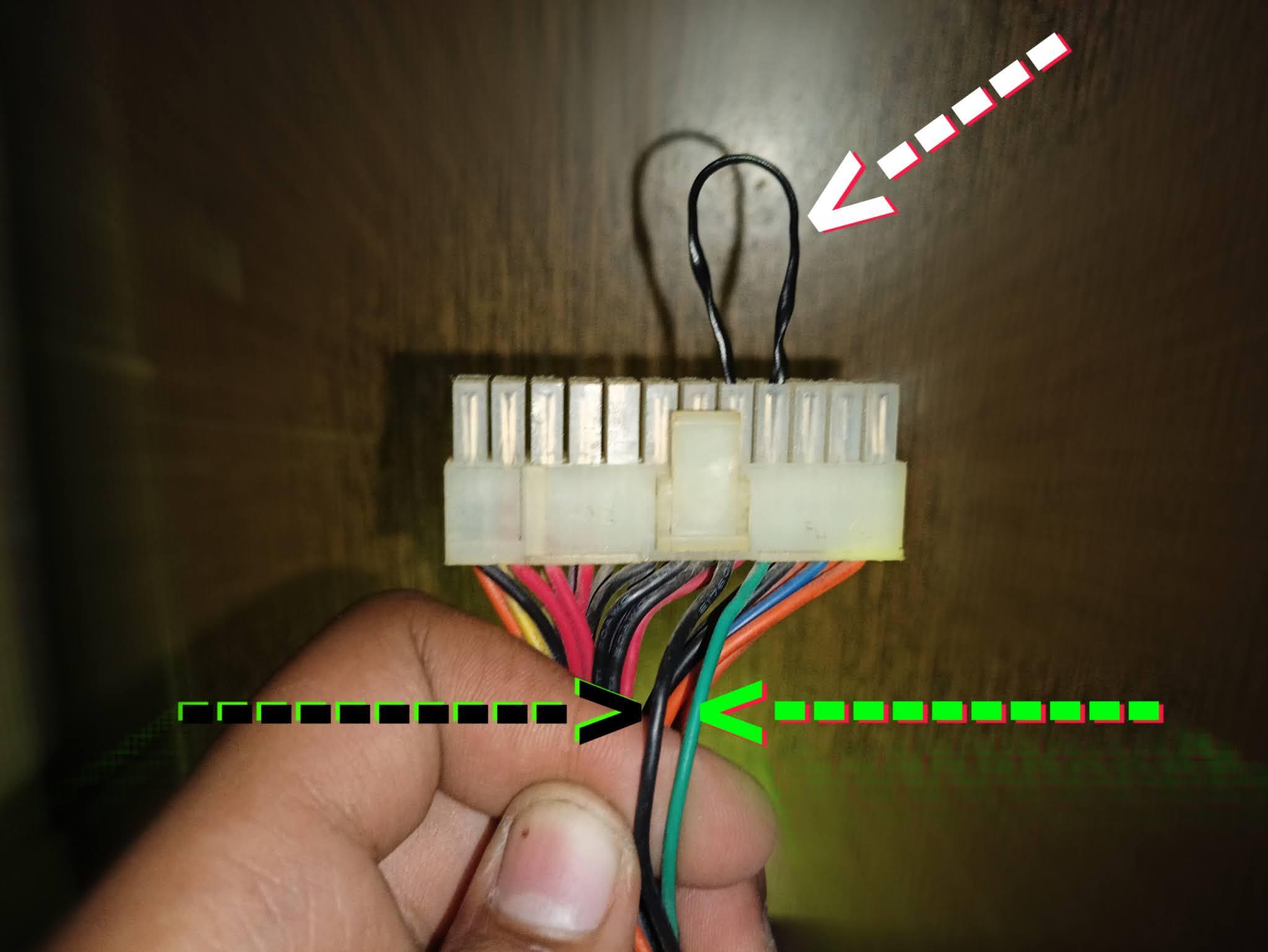 check computer power supply in hindi