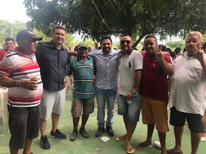 Políticos aliados e simpatizantes do grupo de Bel Jr. realizam encontro político em Senador Sá.