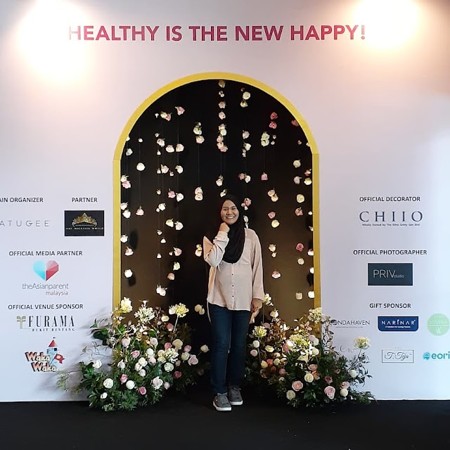 Natugee X Mrs World Malaysia 'Healthy Is The New Happy! A Better You Today.