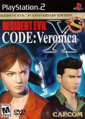 Resident Evil - CODE: Veronica X - Ps2