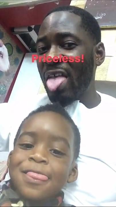 Tiwa Savage's Hubby, Teebillz, Goofs Around With Their Son, Jamil (Pics, Video)