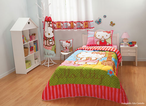 b3f8186882 Lumaniacs  Hello Kitty- Cama e Banho linha exclusiva Pernambucanas