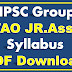 TNPSC Group 4 Syllabus PDF Download VAO Junior Assistant Syllabus PDF