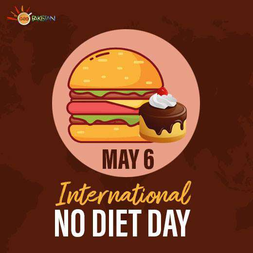 International No Diet Day Wishes Awesome Picture
