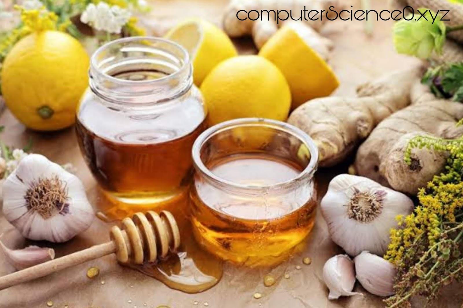 Honey and Garlic to increase immunity power at home
