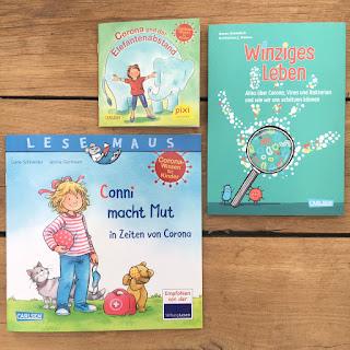Kinderbuch-Empfehlungen zum Corona-Virus