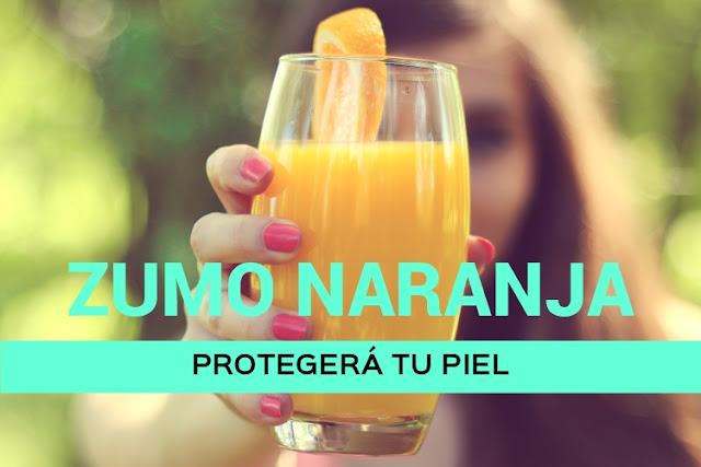 Tres zumos naturales para potenciar el moreno