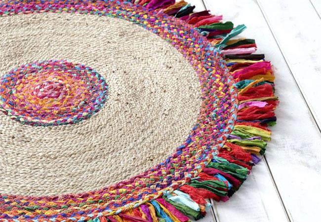 Καλοκαιρινό Ψάθινο Χαλί: Pueblo Multi Nima