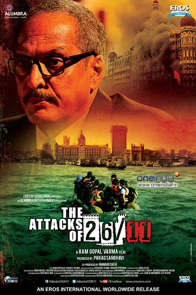 Poster of The Attacks Of 26/11 (2013) 720p Hindi HDRip Full Movie Download