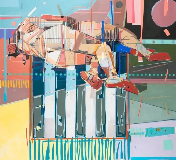Британский художник-коллажист. Patrick Bremer