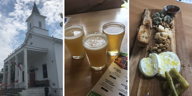 Sampling brews and treats at Beer Church Brewing Co.