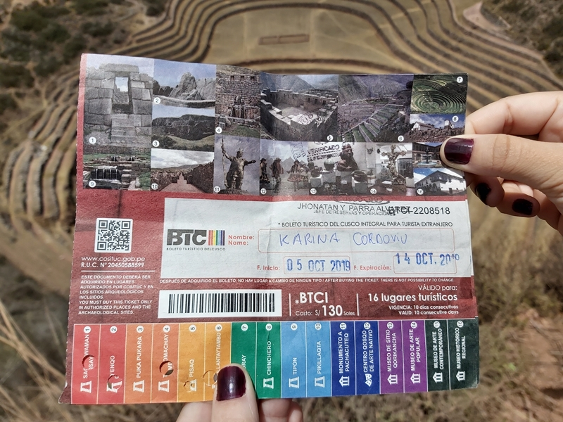 Boleto Turístico de Cusco, onde comprar, validade e valores.