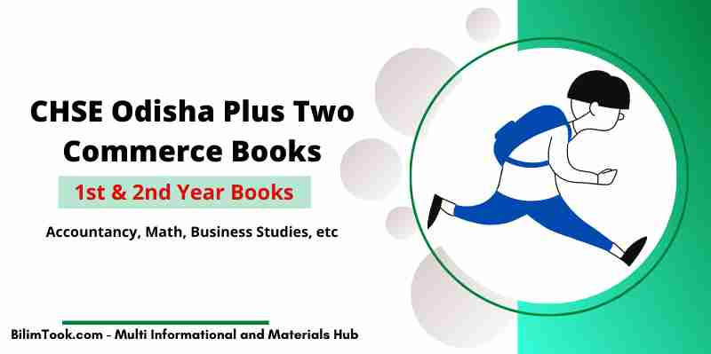 CHSE Odisha Commerce All Books PDF For Plus Two 1st and 2nd Year
