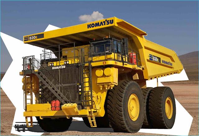 Spesifikasi Komatsu 830E