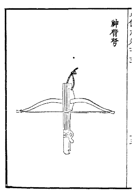 Ming Dynasty Heavy Crossbow