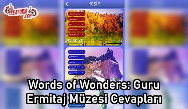Words of Wonders: Guru Ermitaj Müzesi Cevapları