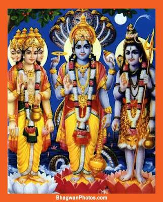 VISHNU BHAGWAN IMAGE