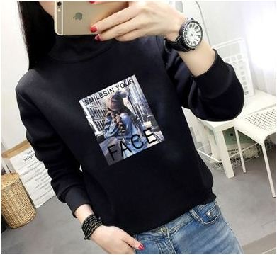 Imported Trendy Polyester Sweatshirt For Women