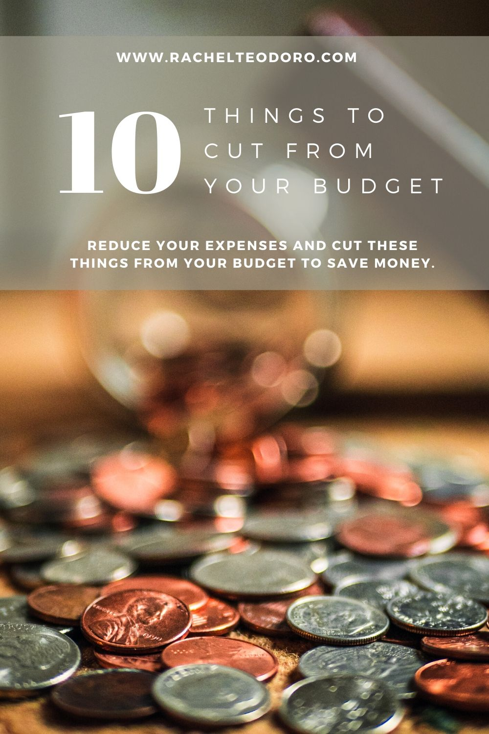 living well on less and cutting unnecessary expenses from your budget