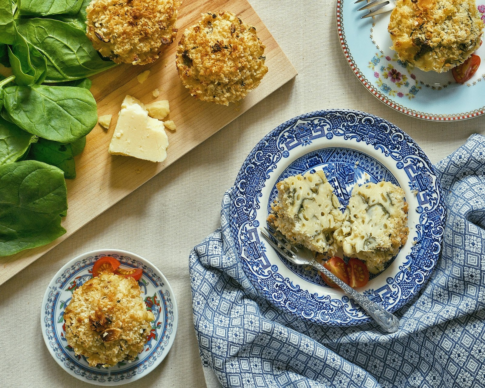 RECIPE | Almond and thyme-crusted macaroni cheese muffins ...