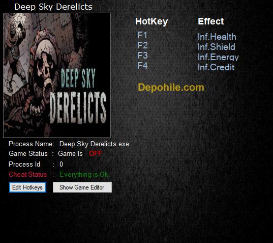Deep Sky Derelicts (PC) Sınırsız Can,Enerji +4 Trainer Hilesi İndir