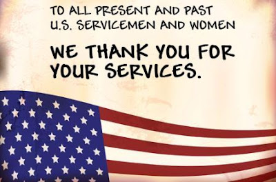 we thank you for your service.
